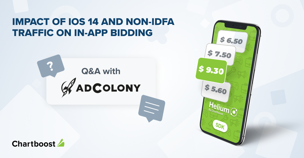 The impact of iOS 14 and non-IDFA traffic on in-app bidding