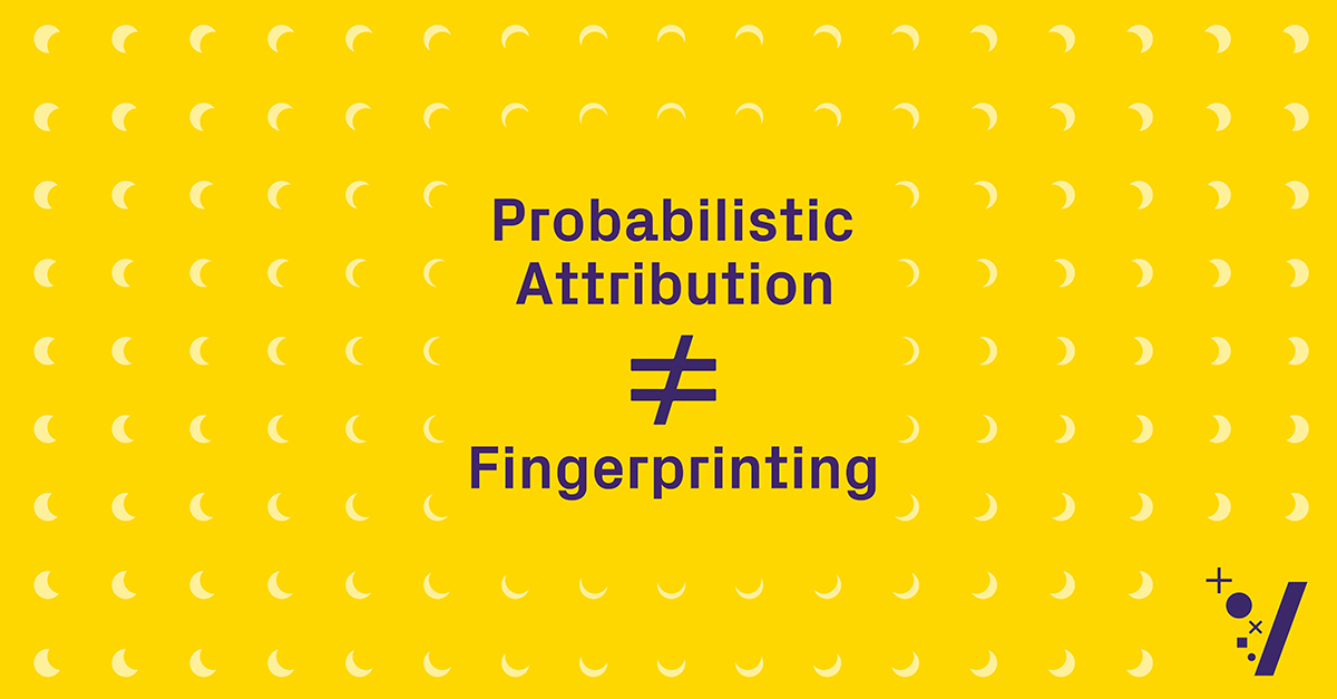 Probabilistic Attribution Does Not Equal Fingerprinting — Here's How